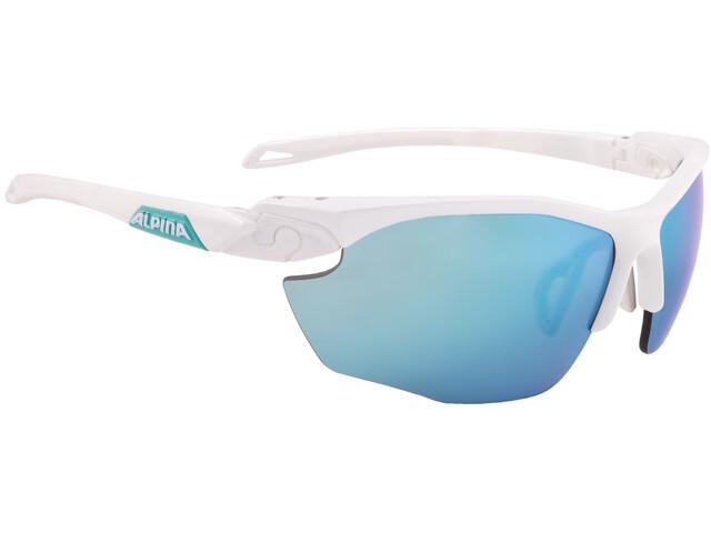 Alpina Twist Five HR CM+ Glasses white matt-emerald